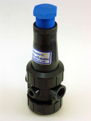 1/2 IN Plastomatic PRHM050V-PV PVC PRV