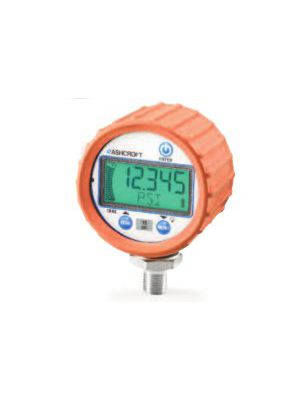 Ashcroft Digital Pressure Gauge DG25 with Orange Protective Boot